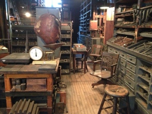 Stock Room at Thomas Edison National Park, containing every imaginable material necessary for endless tinkering.
