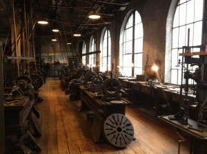 Heavy Machinery Room, which looks identical to historic photographs dated 1919.